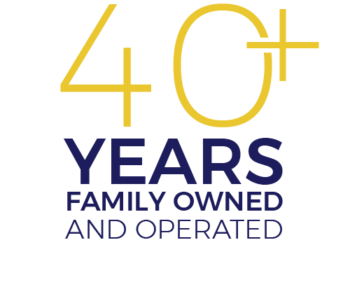 40+ years family owned and operated
