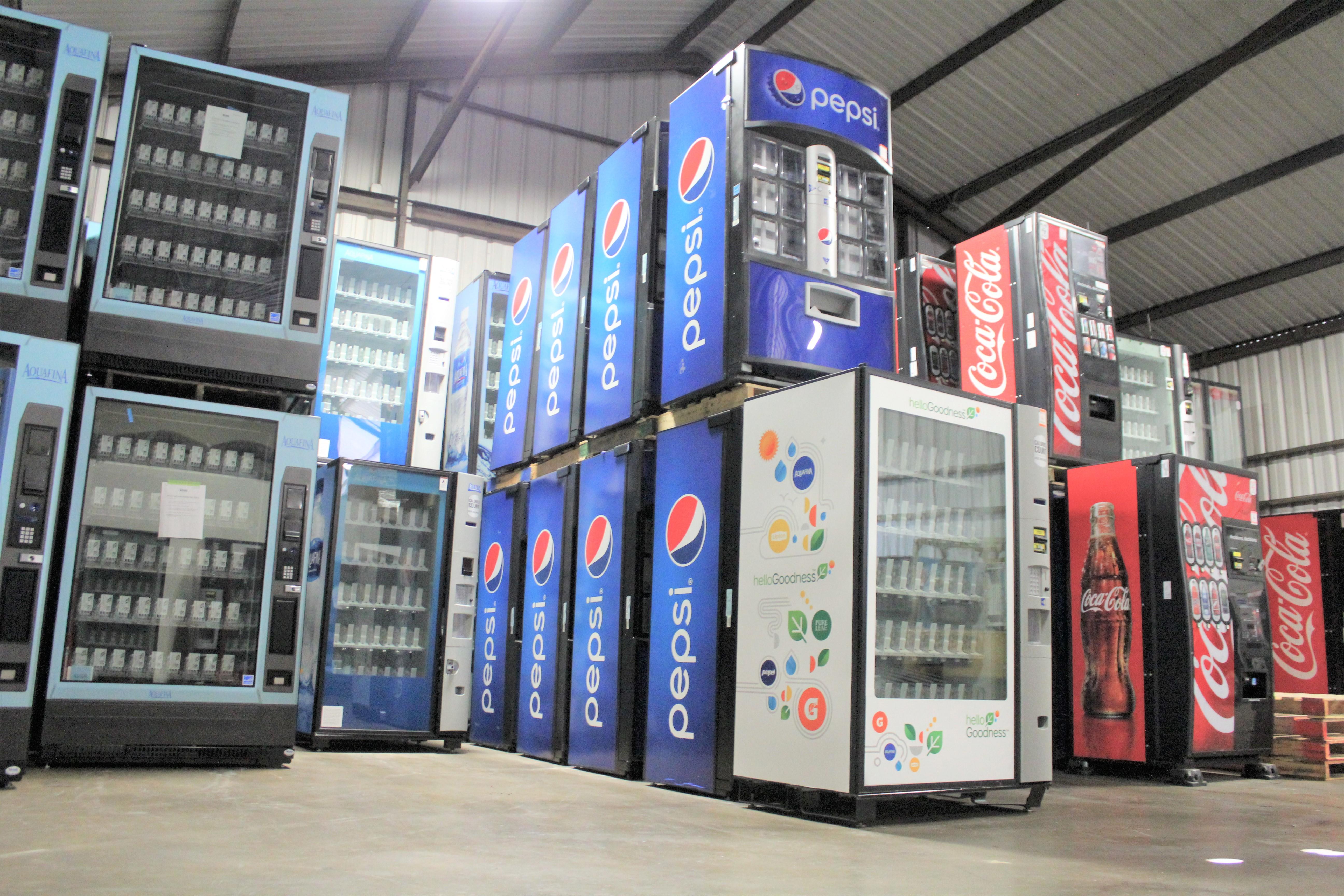 warehouse machine inventory