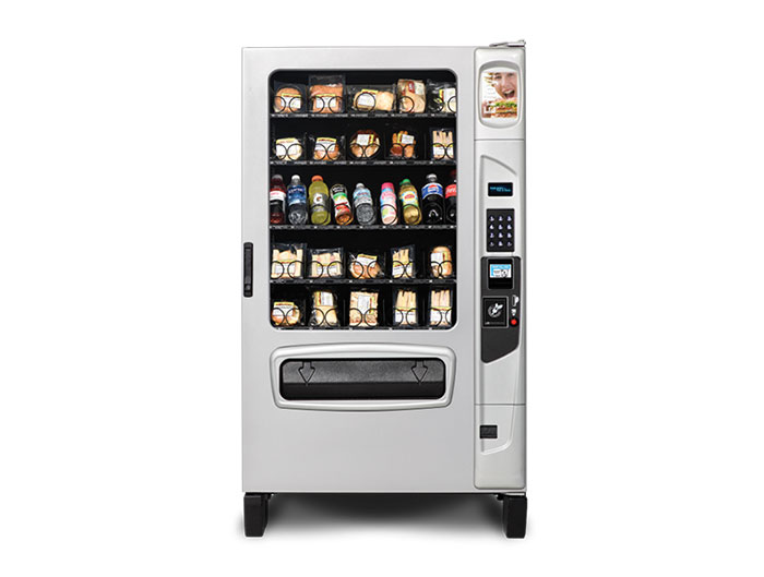 Dependable Break Room Equipment Fresh Food Vending