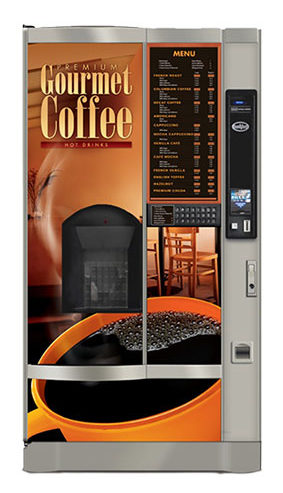 fresh coffee vending machine